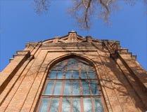 Cathédrale gothique en Samara. La Russie. Image stock