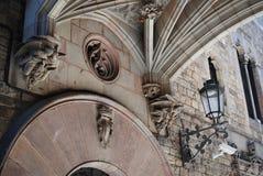 Cathédrale gothique, Espagne Image libre de droits