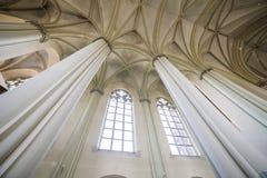 Cathédrale gothique L'architecture gothique est un style d'architecture qui s'est épanoui au cours de la haute et de la période m Images stock
