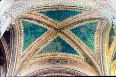 Cathédrale gothique médiévale d'Orvieto, Italie Image libre de droits
