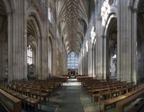 Cathédrale grande-angulaire Photos stock