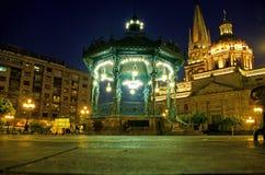 cathédrale Guadalajara Mexique images libres de droits