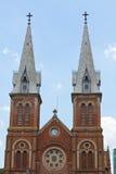 Cathédrale Ho Chi Minh Ville, Vietnam de Notre Dame Image libre de droits
