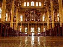 Cathédrale II intérieur Photographie stock