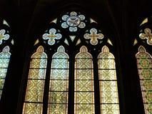 Cathédrale intérieure de Burgos Image libre de droits