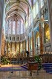 Cathédrale intérieure de Chartres Photos stock
