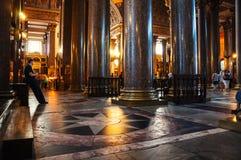Cathédrale intérieure de Kazan à St Petersburg Photo stock
