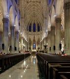 Cathédrale intérieure du ` s de St Patrick Images libres de droits