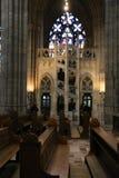 Cathédrale intérieure Prague Image libre de droits