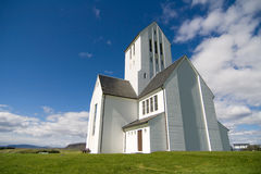 Cathédrale islandaise Photographie stock libre de droits