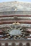 Cathédrale Italie en Siena Details Photographie stock libre de droits