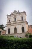 Cathédrale italienne à Rome Image libre de droits