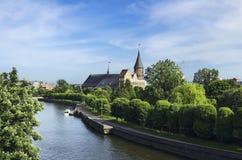 cathédrale kaliningrad Photos libres de droits