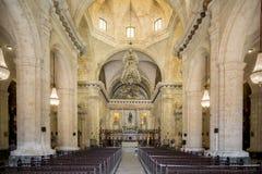 Cathédrale, La Havane, Cuba #2 Photographie stock libre de droits