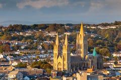Cathédrale les Cornouailles Angleterre de Truro Images libres de droits