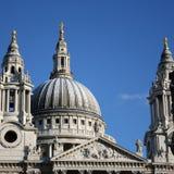 Cathédrale Londres de rue Pauls Images stock