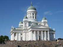 Cathédrale luthérienne à Helsinki image libre de droits