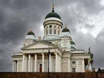 Cathédrale luthérienne évangélique finlandaise du diocèse 1852 à Helsinki, Suomi images stock