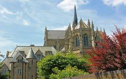 Cathédrale médiévale Arundel, le Sussex image stock