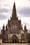 Cathédrale médiévale de Glasgow Photos stock
