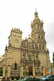 Cathédrale métropolitaine à Monterrey image stock