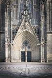 Cathédrale Magedburg d'entrée Image libre de droits