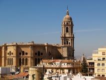 cathédrale Malaga Photographie stock