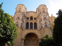cathédrale Malaga Photos libres de droits