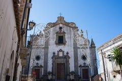 Cathédrale Maria S Annunziata e Assunta, ² d'Agrà de ` de Forza D photos stock