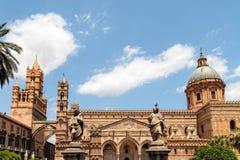 Cathédrale Maria Santissima Assuanta de Palerme en Sicile Images stock