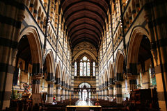 cathédrale Melbourne photo stock