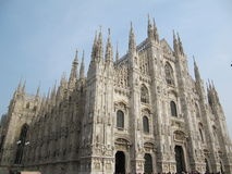 cathédrale Milan Photos stock