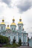 Cathédrale navale de Saint-Nicolas St Petersburg Russie Image libre de droits