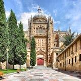 Cathédrale neuve à Salamanque Photo stock