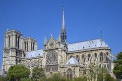 Cathédrale Notre Dame de Paris , France Stock Image