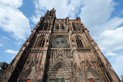Cathédrale Notre Dame, Strasbourg, France Photographie stock
