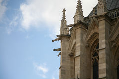 Cathédrale notre paniusia de Paris Obrazy Stock