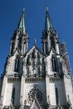 Cathédrale Olomouc, République Tchèque de Wenceslas de saint Photos libres de droits