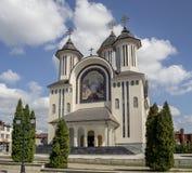 Cathédrale orthodoxe dans Drobeta Turnu-Severin, Photographie stock