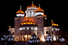 Cathédrale orthodoxe dans Mioveni, photographie stock