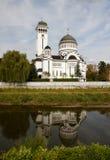 Cathédrale orthodoxe dans Sighisoara, Roumanie Photos libres de droits