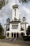 Cathédrale orthodoxe dans Sighisoara, Roumanie Photo libre de droits