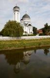 Cathédrale orthodoxe dans Sighisoara, Roumanie Photographie stock