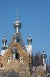 Cathédrale orthodoxe dans Tartu, Estonie photos libres de droits