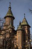 Cathédrale orthodoxe dans Timisoara, Roumanie photo stock