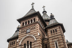 Cathédrale orthodoxe dans Timisoara, Roumanie photographie stock