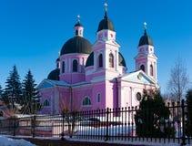 Cathédrale orthodoxe de Saint-Esprit, Chernivtsi Images libres de droits