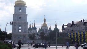 Cathédrale orthodoxe de St Sofia à Kiev clips vidéos