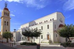 Cathédrale orthodoxe du ` s de Rethymno photographie stock libre de droits