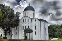Cathédrale orthodoxe russe Photo stock
